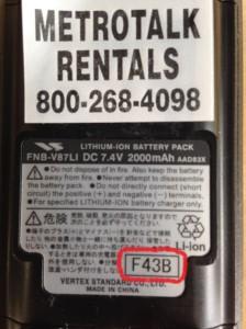 Vertexstandard label